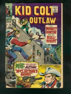 KID COLT OUTLAW #137 1967 G