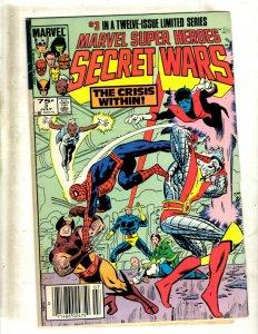 10 Comics Secret Wars 3 5 6 9 Indiana Jones 9 19 22 29 31 Marvel Fanfare 31 SB3