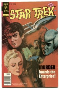 Star Trek #48 1977- Gold Key comics FN-