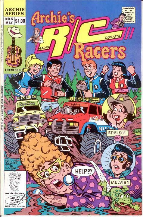 ARCHIES R/C RACERS (1989)5 VF-NM May 1990 COMICS BOOK