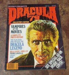 Warren Presents Dracula #5 VG/FN 1979 Horror Magazine Bela Lugosi Vampires