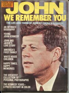 John We Remember You 1974-Life and times of JFK-pix & info-G/VG