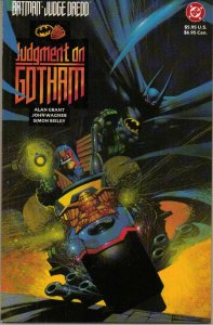 Batman/Judge Dredd: Judgement on Gotham - DC - 1991
