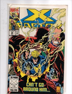 Marvel Comics X-Factor Vol. 1 #90 Peter David Story Joe Quesada Cover & Art