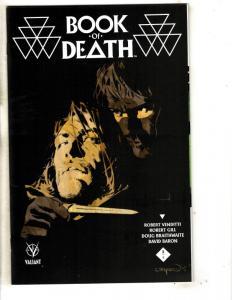 Book Of Death # 2 NM 1st Print Valiant Comic Book Variant Cover A MK3