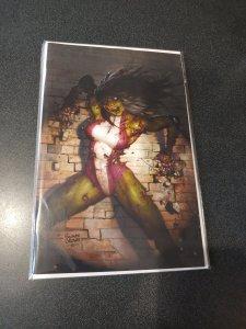 MARVEL ZOMBIES RESURRECTION #1 RYAN BROWN VIRGIN VARIANT EXCLUSIVE