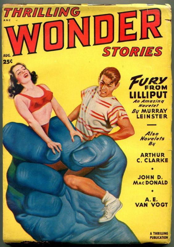 Thrilling Wondering Stories Pulp August 1949- Arthur C