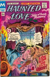 Haunted Love #1 1978-Modern-2nd edition-romantic horror stories-Gothic-Cuti-VF