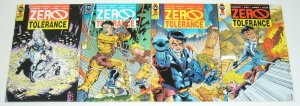 Zero Tolerance #1-4 VF/NM complete series - tim vigil - first comics 2 3 set lot