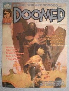 DOOMED Promo Poster, Ashley Wood, 18x24, 2005, Unused, more Promos in store