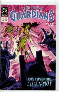 THE NEW GUARDIANS #4, VF/NM, Joe Staton, DC, 1988 more in store