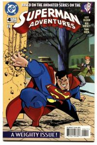 Superman Adventures #4 comic book 1997 First Appearance Of Livewire
