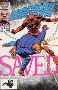 Daredevil #231 (June 1986) - Kingpin - part of the Born Again story arc