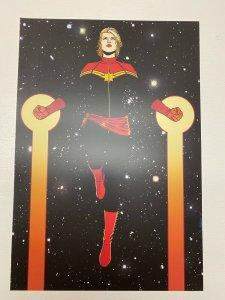 Captain Marvel Marvel Comics poster by Jamie McKelvie