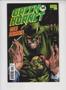 GREEN HORNET ANNUAL 2 2012 DYNAMITE / DIRECT SALES