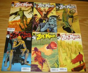 Zerokiller #1-6 VF/NM complete series ARVID NELSON dark horse zero killer set