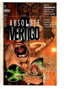 Lot Of 3 Vertigo DC Comic Books Jam #1 + Sneak Peak + Absolute 95' Preacher CR19