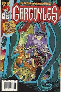 Gargoyles #5 (Newsstand) FN; Marvel   save on shipping - details inside