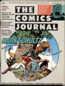 Comics Journal #150 1992- Mark Schultz- Jamie Hernandez comic fanzine VG/F