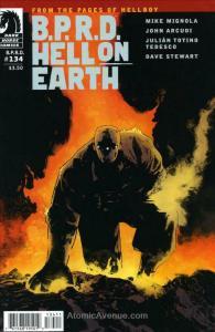 B.P.R.D. Hell on Earth #134 VF/NM; Dark Horse | save on shipping - details insid