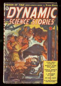 DYNAMIC SCIENCE STORIES PULP #2-1939-HITLER COVR-TIMELY FN
