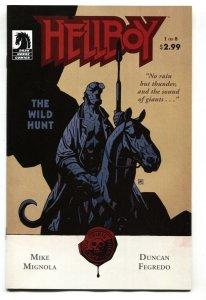 Hellboy: The Wild Hunt #1  2008- Dark Horse NM-