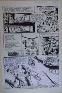DON LOMAX Original Art, Vietnam Journal #8 pg 20, Brain Dead Horror,Caliber,2011