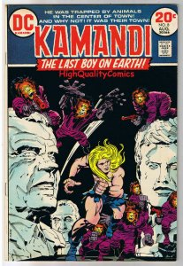 KAMANDI #8, VF-, Jack Kirby, Last Boy on Earth, 1972, more JK in store