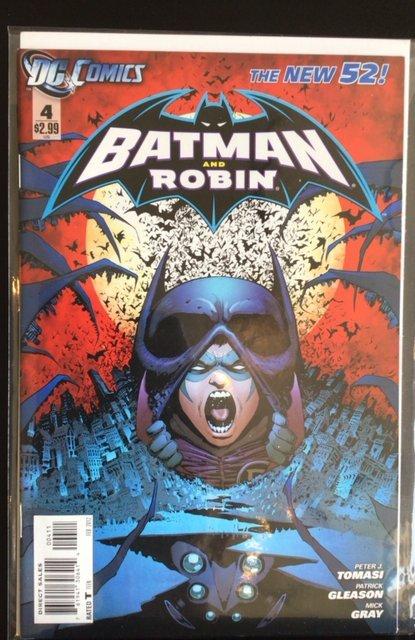 Batman and Robin #4 (2012)