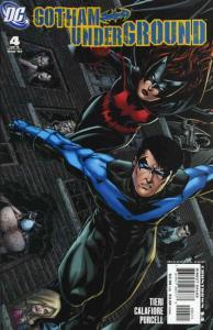 Gotham Underground #4 VF/NM; DC | save on shipping - details inside