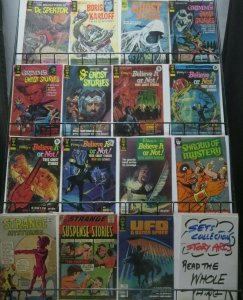 DELL/GOLD KEY (mostly) SCI-FI/HORROR COLLECTION!  15 BOOKS! Karloff! Ripley!