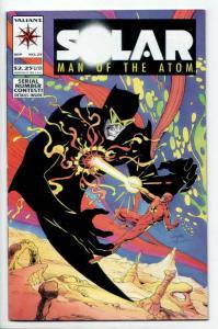 Solar Man of The Atom #25 (Valiant, 1993) VF-