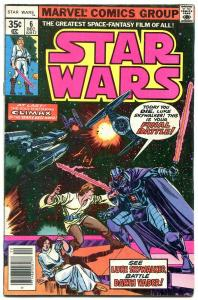 STAR WARS COMICS #6 1977- Darth Vader- Marvel comics