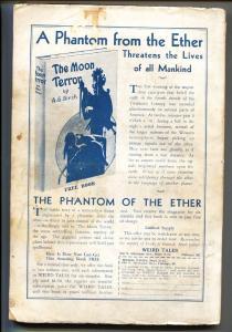Weird Tales 12/1932-1st CONAN story by Robert E Howard-Pulp Magazine