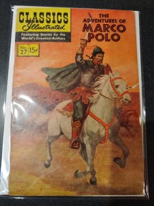 CLASSIC ILLUSTRATED #27 THE ADVENTURES OF MARCO POLO GOLDEN AGE CLASSIC