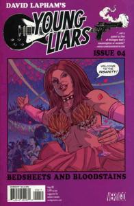 Young Liars #4 VF; DC/Vertigo | save on shipping - details inside