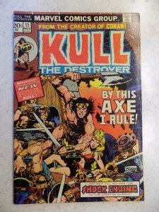 KULL THE DESTROYER # 11 MARVEL FANTASY CONAN SWORD SORCERY PLOOG COVER