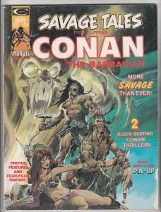 Savage Tales #4 (May-74) VF+ High-Grade Conan the Barbarian