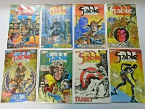 Jon Sable run #1 to #30 missing #20 all 29 different books 8.0 VF (1983)