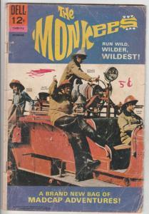 Monkees, The #7 (Dec-67) GD/VG Affordable-Grade The Monkees (Peter Tork, Davi...