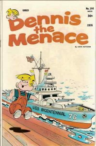 Dennis the Menace (Fawcett) #144 VG; Fawcett | low grade comic - save on shippin