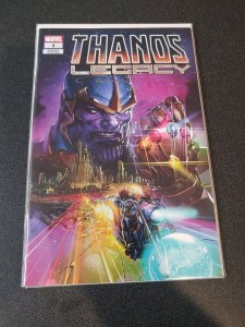 THANOS LEGACY #1  Scorpion Comics Variant signed by Clayton Crain W/COA