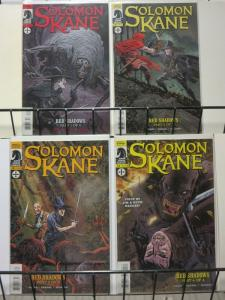 SOLOMON KANE RED SHADOWS (2011 DH) 1-4  COMPLETE!