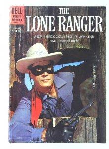 Lone Ranger (1948 series) #134, Fine (Actual scan)