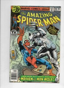 SPIDER-MAN #190, NM-, John Byrne, Man-Wolf, Amazing,1963, more ASM in store
