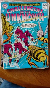 CHALLENGERS OF THE UNKNOWN #40(DC,1964) Condition VG