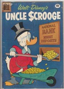 Uncle Scrooge, Walt Disney #33 (Mar-61) FR/GD Affordable-Grade Uncle Scrooge