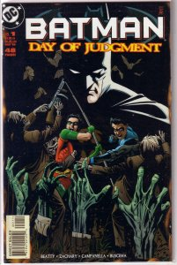 Batman  : Day of Judgment   #1 VF