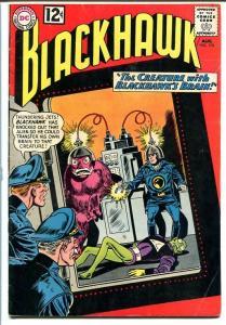 BLACKHAWK #175 1962-DC COMICS-TRANSFERRING BRAINS! WILD VG/FN