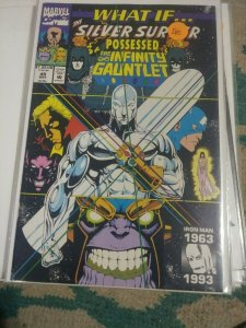 What If...? # 49 1993  Marvel   SILVER SURFER POSESSED THE INFINITY GAUNTLET HTF
